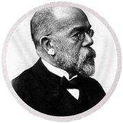 Robert Koch, German Microbiologist Round Beach Towel