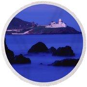 Roches Point, Whitegate, County Cork Round Beach Towel