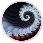 Rolling In The Deep Round Beach Towel