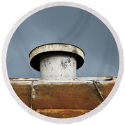 Rooftop Vent Round Beach Towel