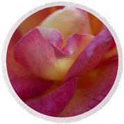 Rose Memories Round Beach Towel