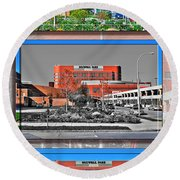 Roswell Park Cancer Institute Round Beach Towel