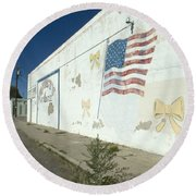 Route 66 Wall Round Beach Towel