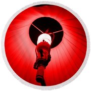 Roxannes Red Light Round Beach Towel