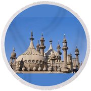 Royal Pavillion - Brighton England Round Beach Towel