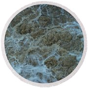 Runoff Round Beach Towel