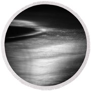 Rushing Water 2 Round Beach Towel