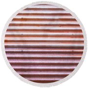 Rusty Metal Round Beach Towel