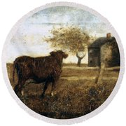 Ryder: The Pasture, C1875 Round Beach Towel