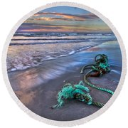 Sailor's Knot Round Beach Towel
