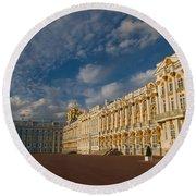 Saint Catherine Palace Round Beach Towel