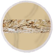 Saint Catherine Sinai Round Beach Towel