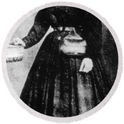 Sally Tompkins (1833-1916) Round Beach Towel