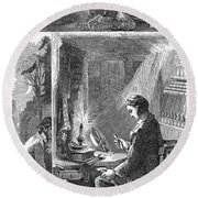 Samuel Crompton (1753-1827) Round Beach Towel