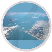 San Francisco 2001 Round Beach Towel