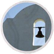 San Xavier Del Bac Bell Round Beach Towel