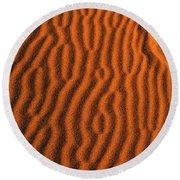 Sand Maze Round Beach Towel