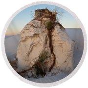 Sand Pedestal With Yucca Round Beach Towel