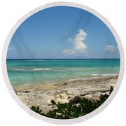 Sandals Cay Round Beach Towel