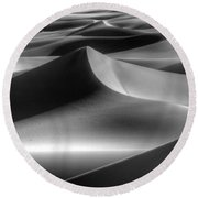 Sands Of Time Round Beach Towel by Bob Christopher
