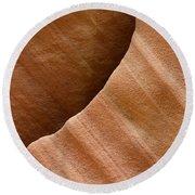 Sandstone Detail Round Beach Towel
