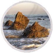 Santa Barbara 11 Round Beach Towel