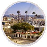 Santa Monica Round Beach Towel