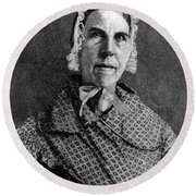Sarah Moore Grimk�, American Round Beach Towel by Photo Researchers