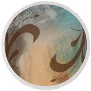 Sata Round Beach Towel