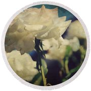 Scent Round Beach Towel by Laurie Search
