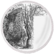Scotland: Jedburgh House Round Beach Towel