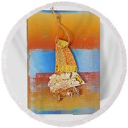Sea Change Round Beach Towel