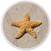Sea Star Round Beach Towel