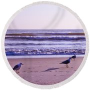 Seagull Alliance Round Beach Towel