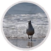 Seascape 85 Round Beach Towel