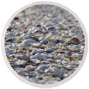 Seashells Round Beach Towel