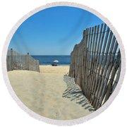 seashore 100 Cape Henlopen Beach walkway Round Beach Towel