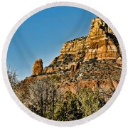 Sedona Arizona Xi Round Beach Towel