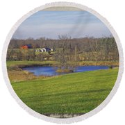 Senic So. Missouri Round Beach Towel