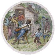 Sharecroppers, 1876 Round Beach Towel