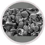 Shells V Round Beach Towel