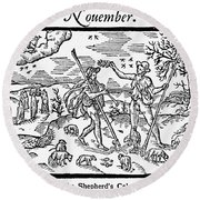 Shepherd, 1597 Round Beach Towel