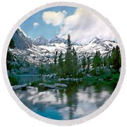 Sierra Round Beach Towel
