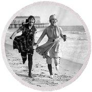 Silent Still: Bathers Round Beach Towel