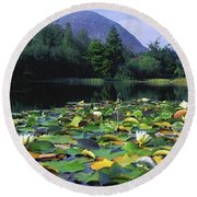 Silent Valley, Mourne Mountains Round Beach Towel