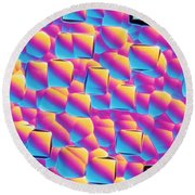 Silicon Wafer Round Beach Towel
