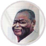 Simon Kimbangu Round Beach Towel