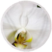 Simply Pure Orchid Round Beach Towel