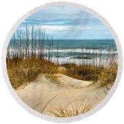 Simply The Beach Round Beach Towel