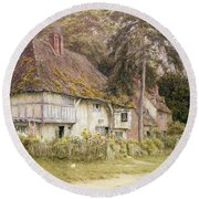 Six Bells Hollingbourne Kent  Round Beach Towel